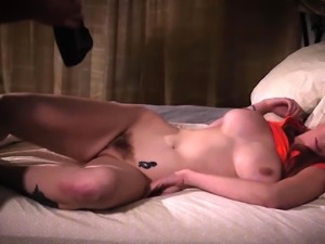 Restrained milf deepthroats a fat cock and gets facialized
