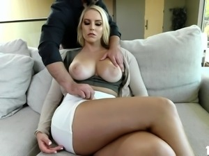 Busty MILF Vanessa Cage loves riding a huge cock